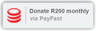 Donate R200 monthly